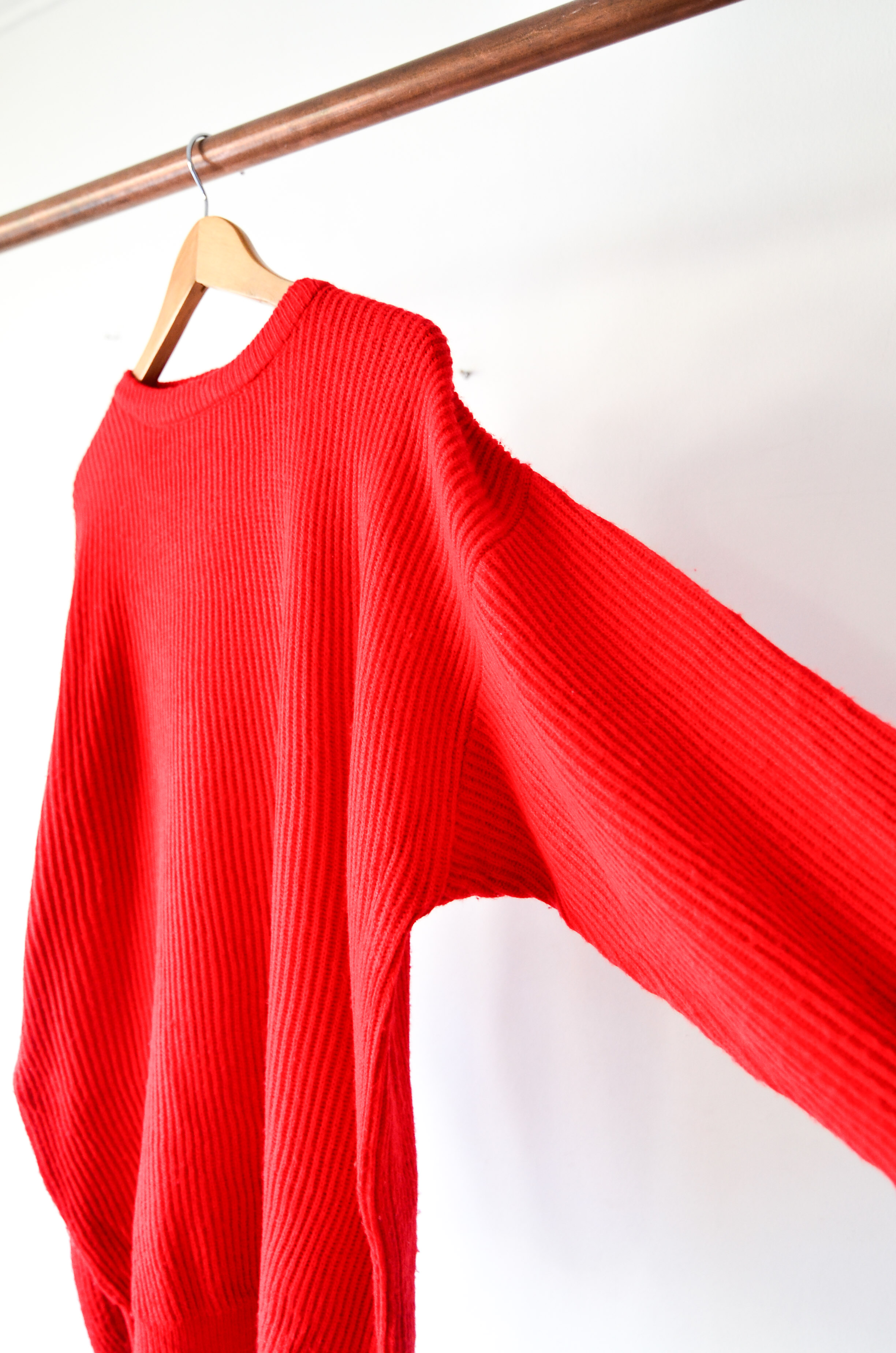 Sweater vintage red