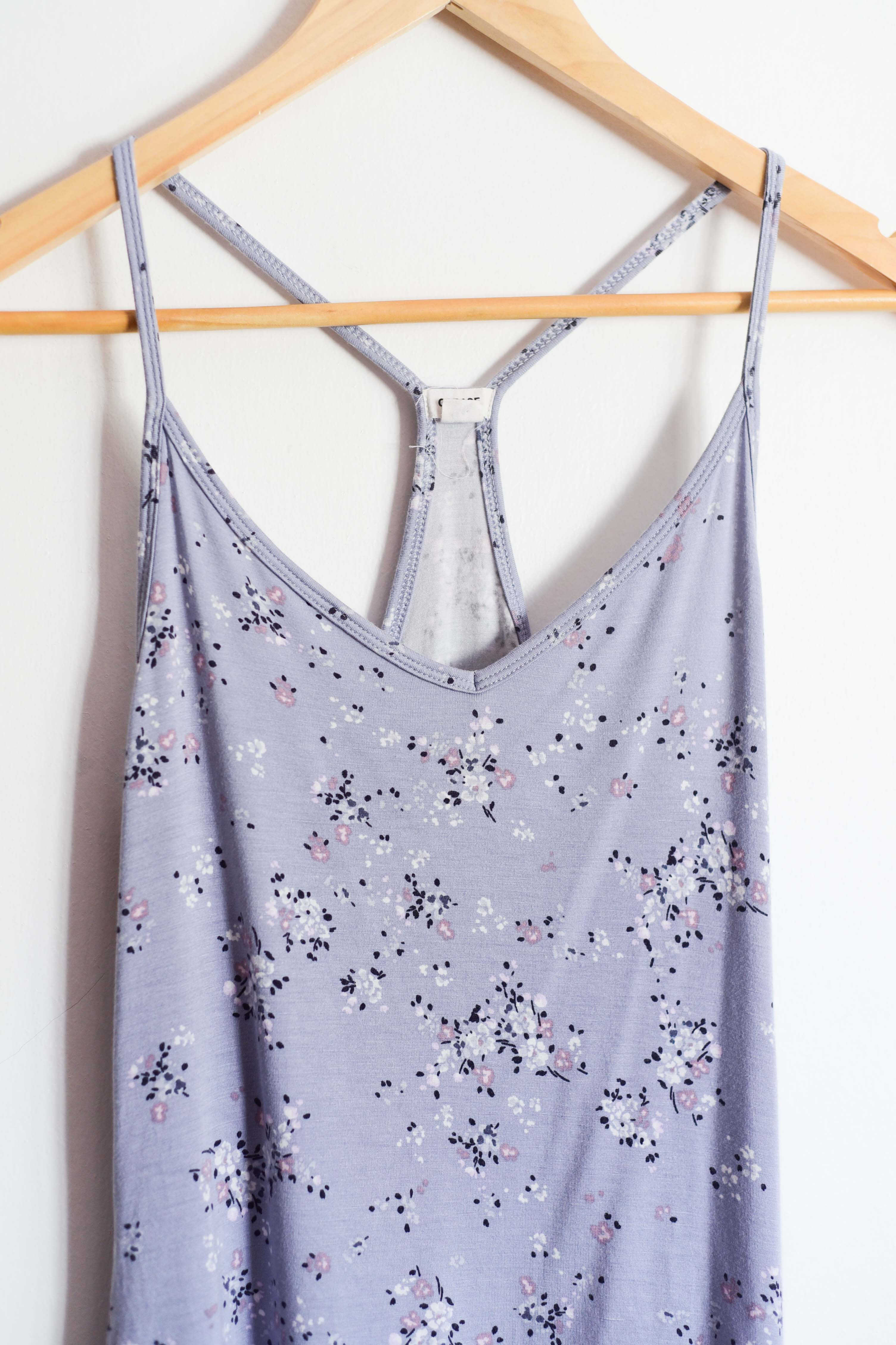 Top lila floral