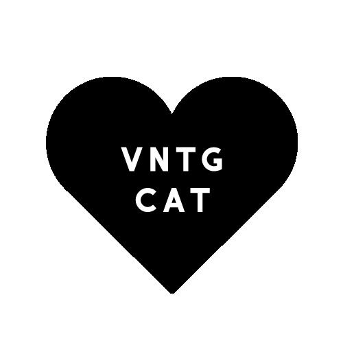 Vntg Cat
