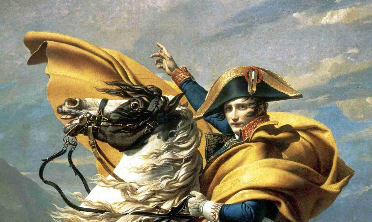 Fact: Napoleón fue quién introdujo la moda de los botones en las mangas de las chaquetas