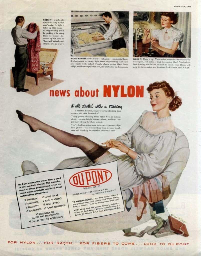 Cuático lo que supimos del NyLon, no teníamos idea