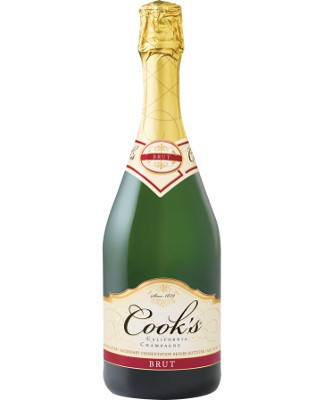 Cook's California Champagne Brut 75cl