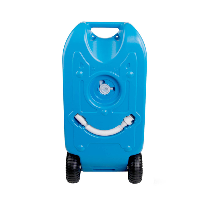 Estanque de agua 40 litros con ruedas for Estanque para agua de 1000 litros