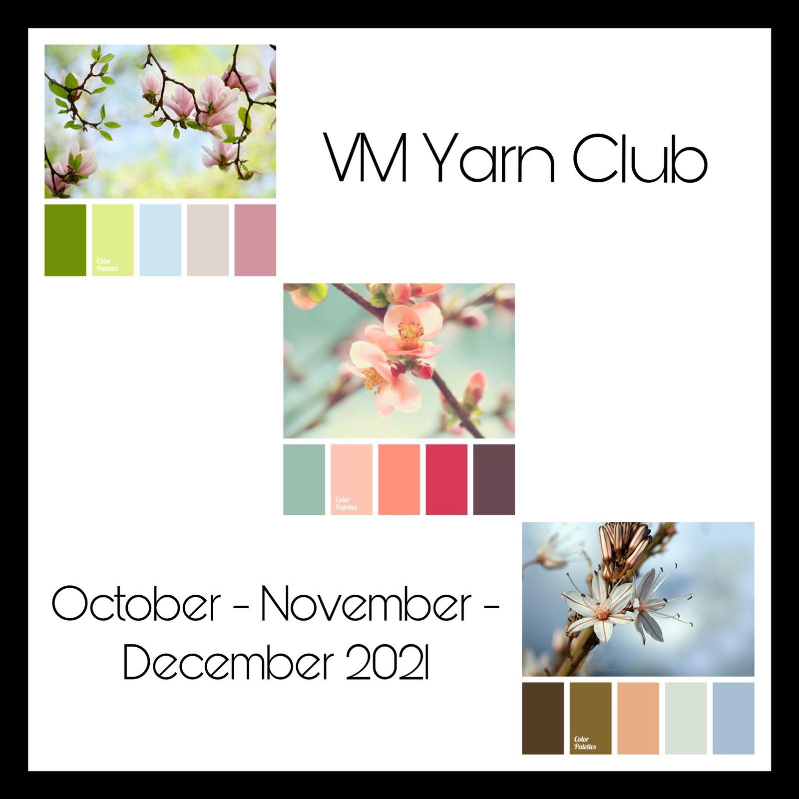 VM Yarn Club Trimestral (OCTUBRE - NOVIEMBRE -  DICIEMBRE)