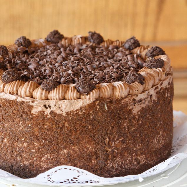Torta de Bizcochuelo Sin Azúcar