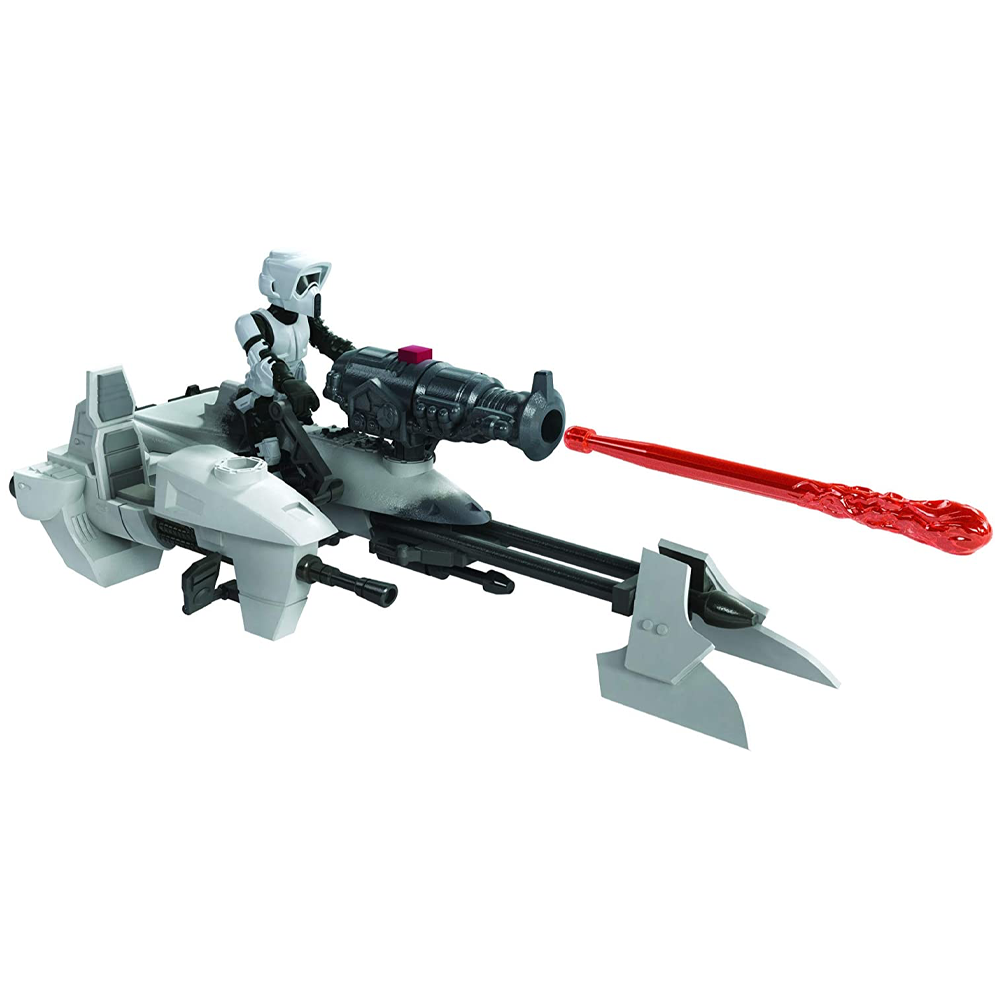 Scout Trooper & Speeder Bike, Star Wars - Mission Fleet