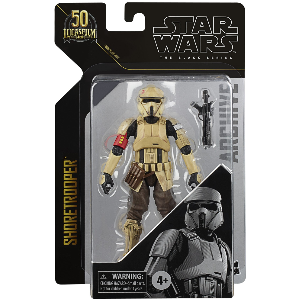 """Shoretrooper """"Rogue One: A Star Wars Story"""", The Black Series Archive Wave 2"""