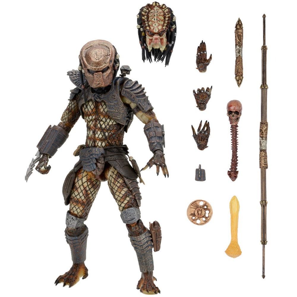 """Ultimate City Hunter Predator """"Predator 2 (1990)"""", NECA"""