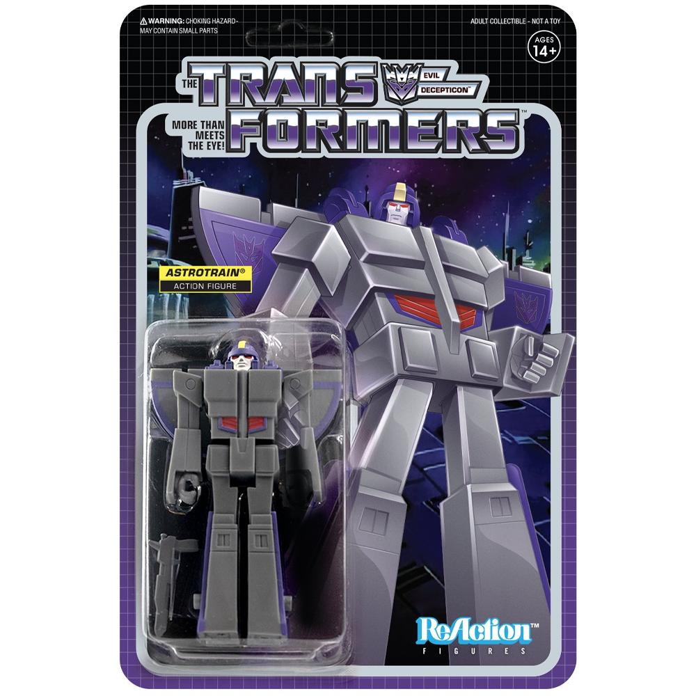 "Astrotrain ""Transformers"", ReAction Figures"