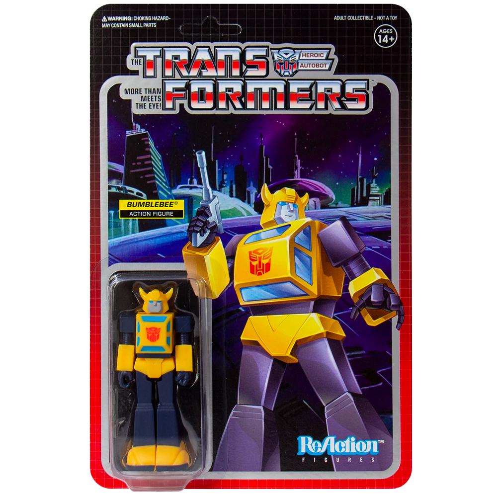 """Bumblebee """"Transformers"""", ReAction Figures"""
