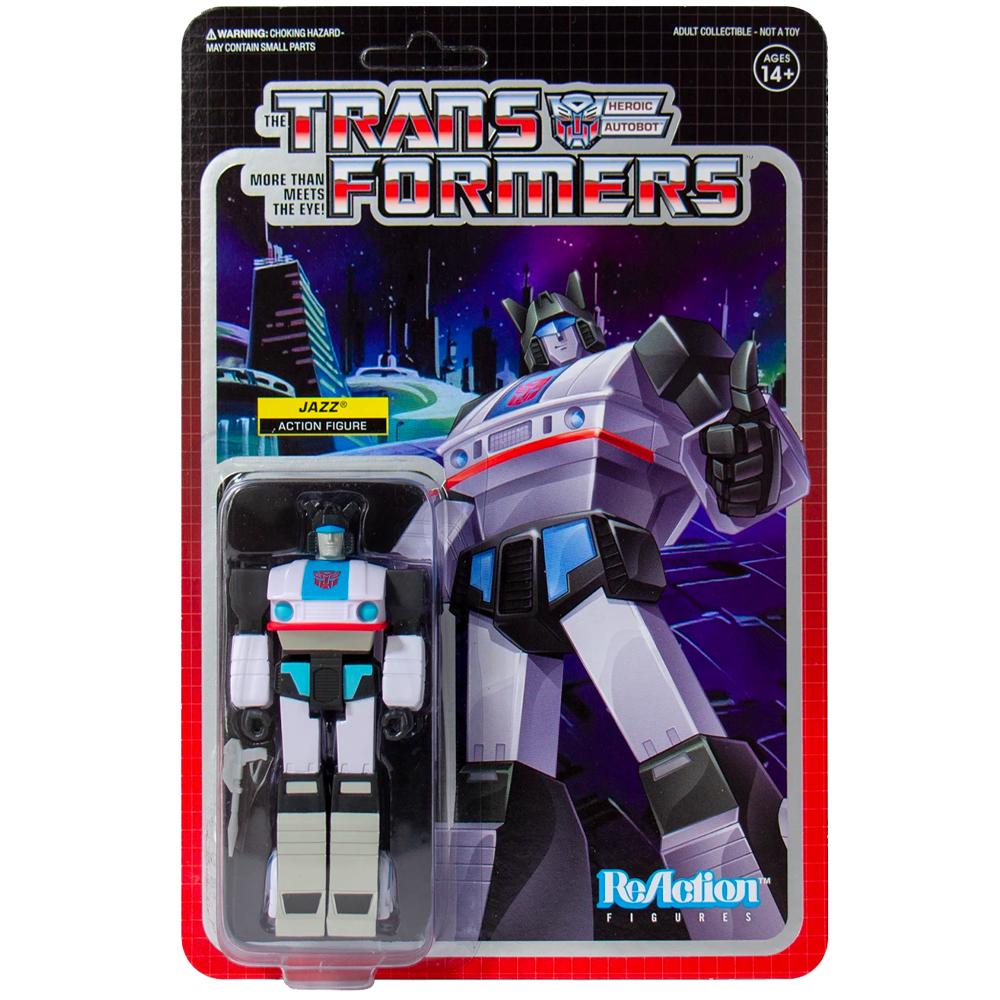 "Jazz ""Transformers"", ReAction Figures"
