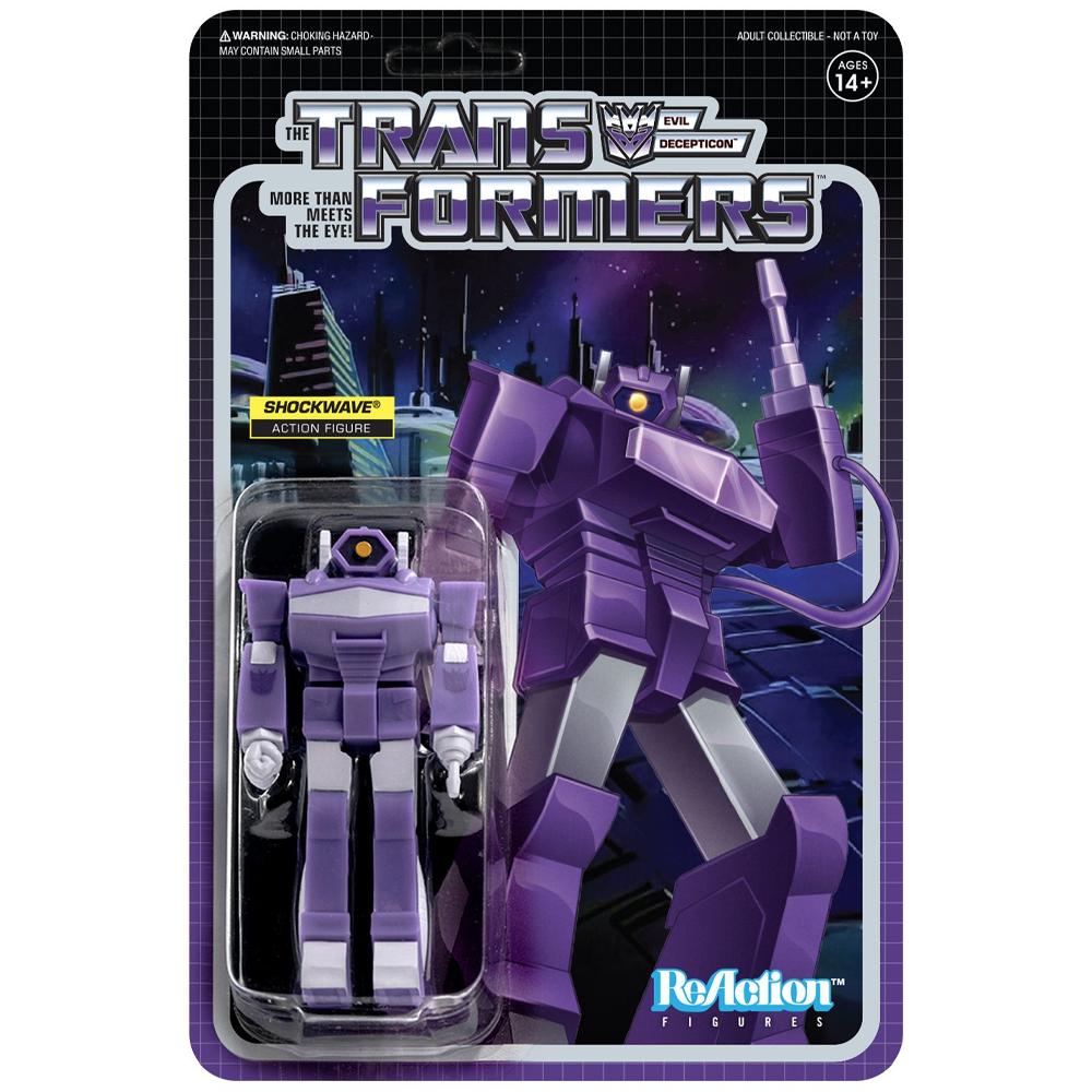 """Shockwave """"Transformers"""", ReAction Figures"""