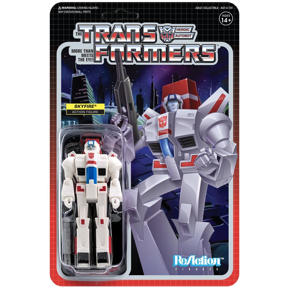 "Skyfire ""Transformers"", ReAction Figures"