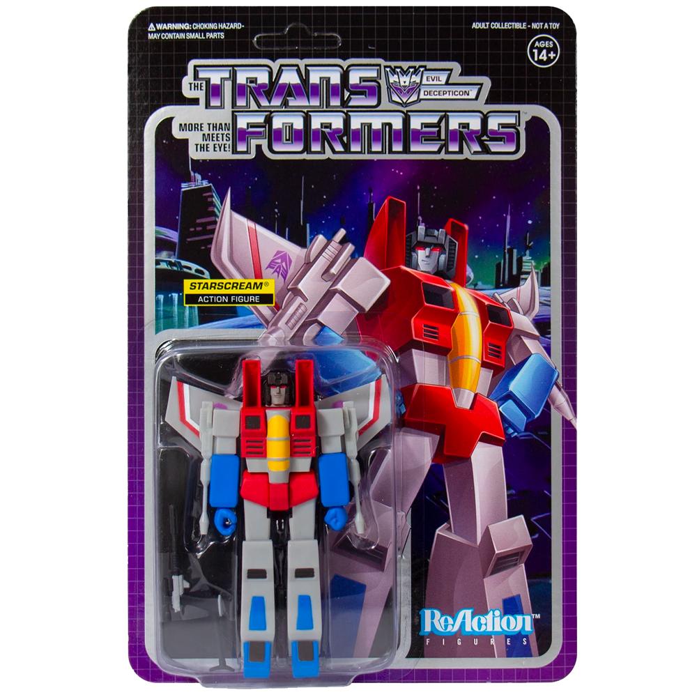 "Starscream ""Transformers"", ReAction Figures"