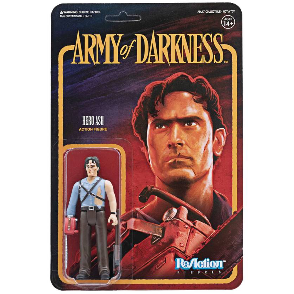 """Hero Ash """"Army of Darkness"""", ReAction Figures"""