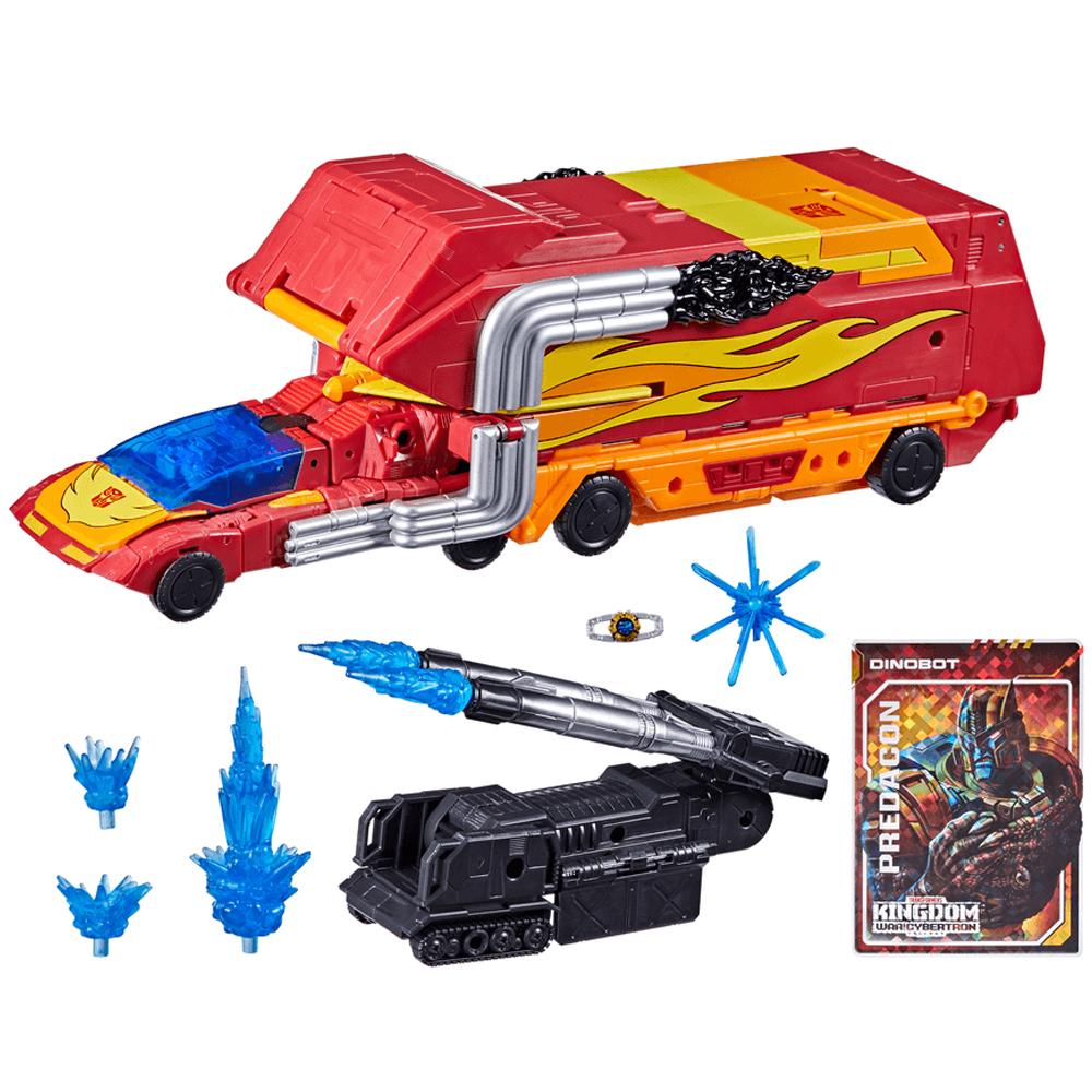 Rodimus Prime Commander Class, Transformers Kingdom