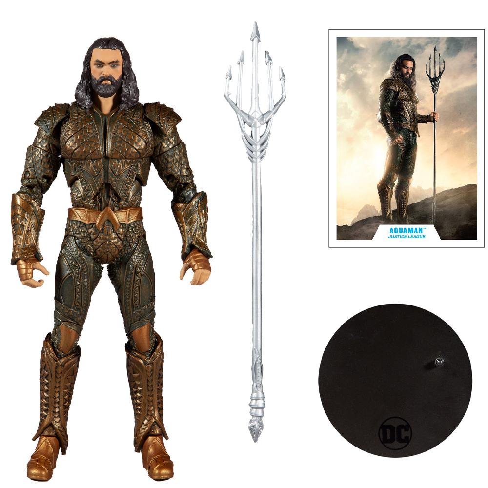 "Aquaman ""Zack Snyder's Justice League"", DC Multiverse - McFarlane Toys"