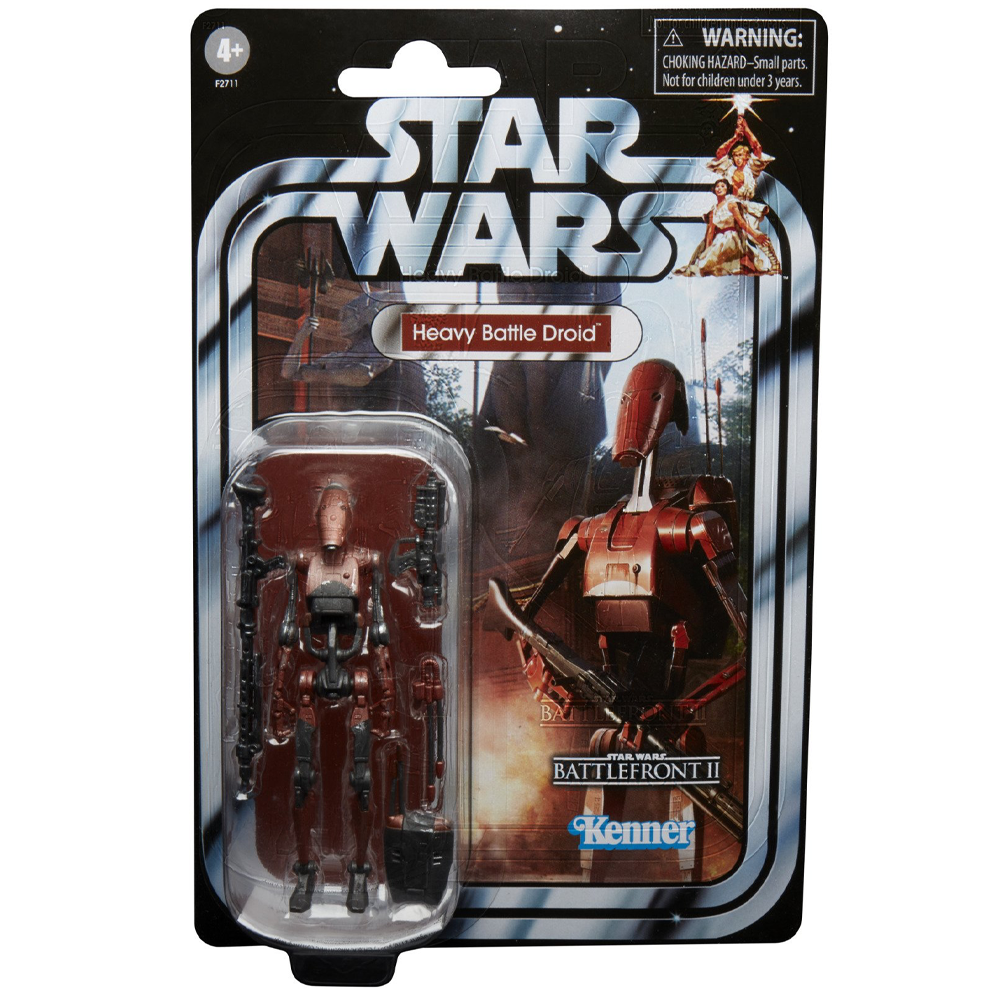 """Heavy Battle Droid """"Star Wars: Battlefront II"""", The Vintage Collection Gaming Greats"""