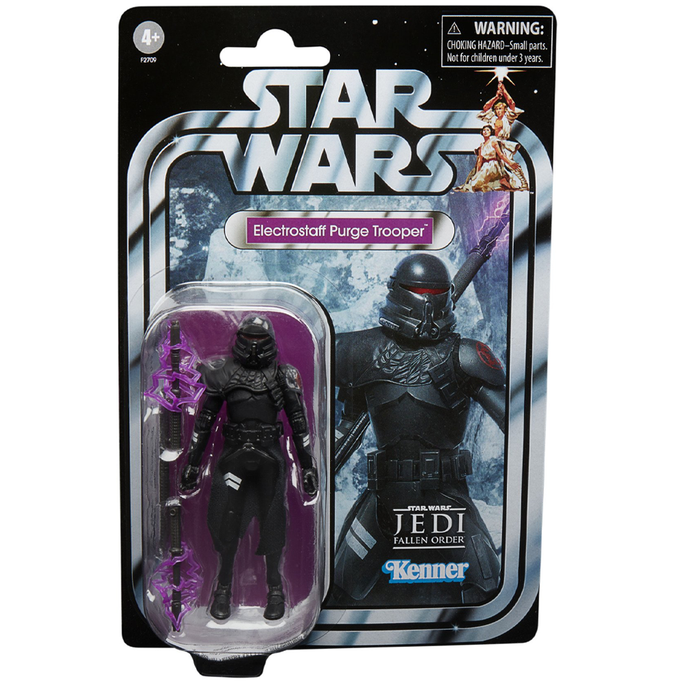 """Electrostaff Purge Trooper """"Star Wars: Jedi - Fallen Order"""", The Vintage Collection Gaming Greats - Exclusive"""