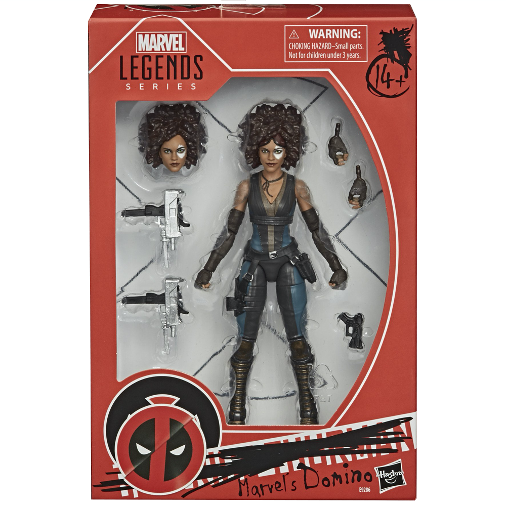 "Marvel's Domino ""Deadpool 2 (2018)"", Marvel Legends"