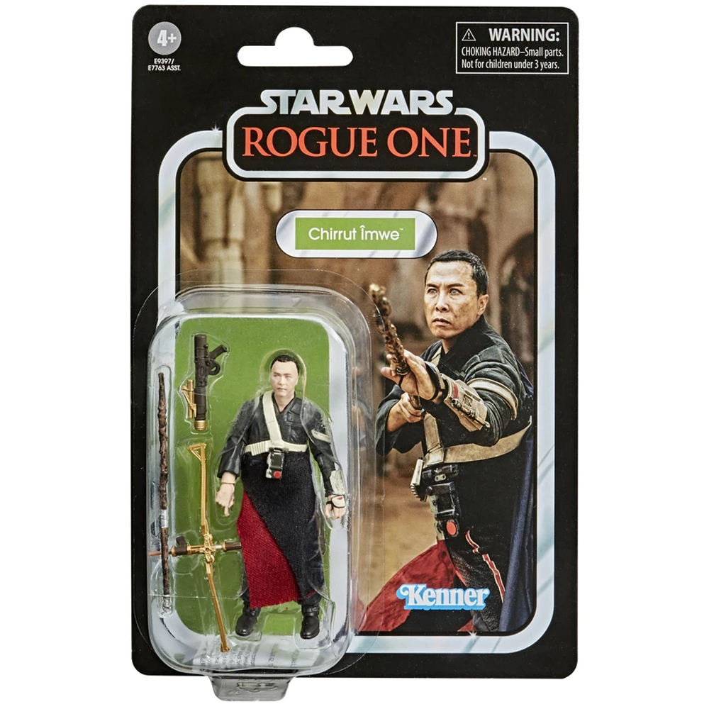 """Chirrut Imwe """"Rogue One: A Star Wars Story"""", The Vintage Collection Wave 15"""