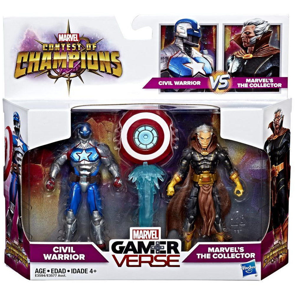 "Civil Warrior & The Collector ""Contest of Champions"", Marvel Gamerverse"