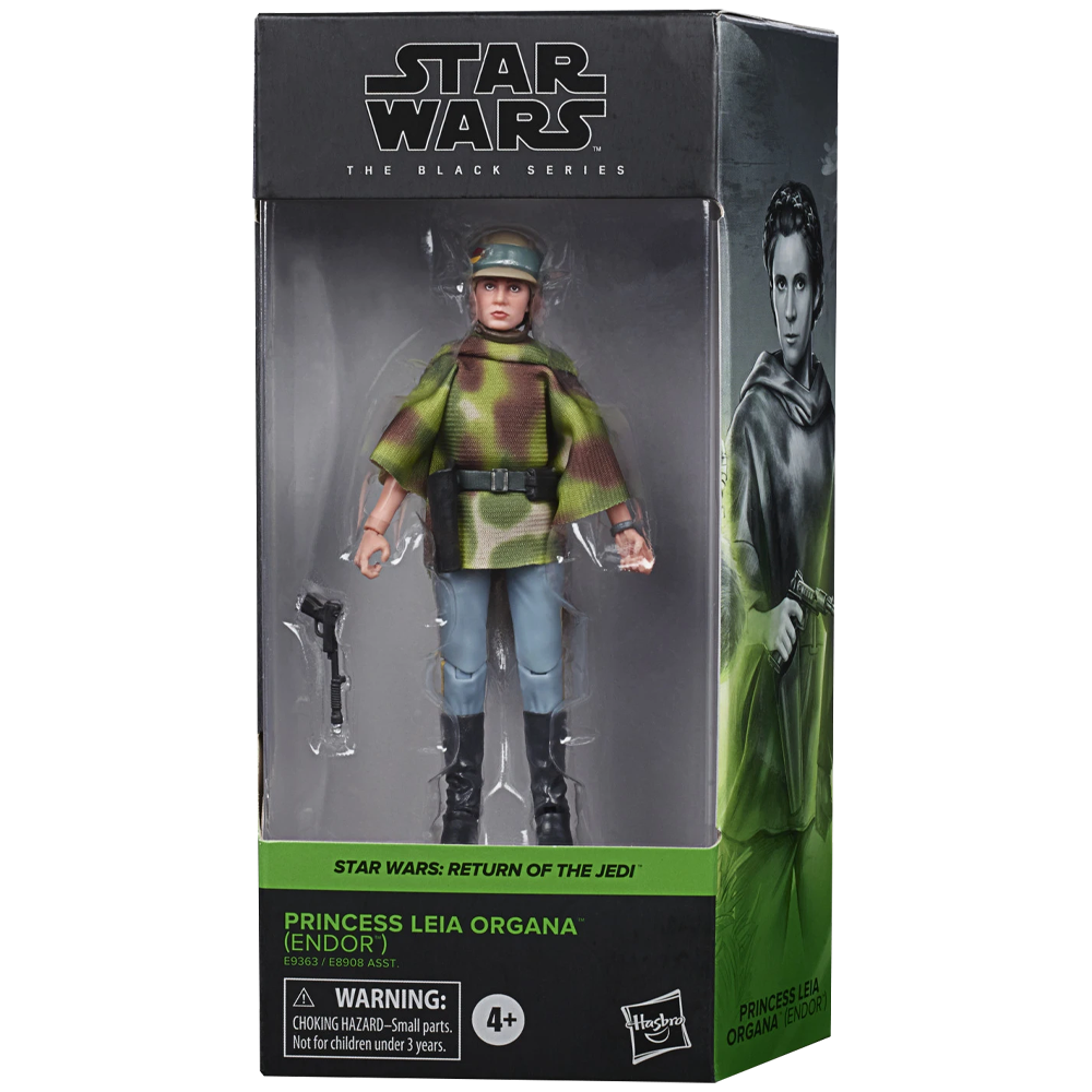 "Princess Leia Organa (Endor) ""Star Wars: Episode VI"", The Black Series Wave 27"
