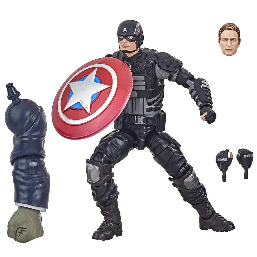 "Captain America ""Stealth"" (Joe Fixit Wave), Marvel Legends"