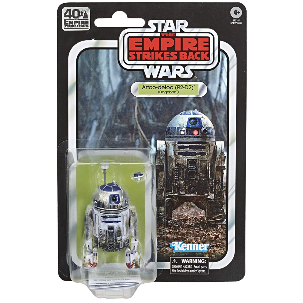 "R2-D2 (Dagobah) ""Star Wars: Episode V"", The Black Series - ESB 40th Anniversary Wave 2"