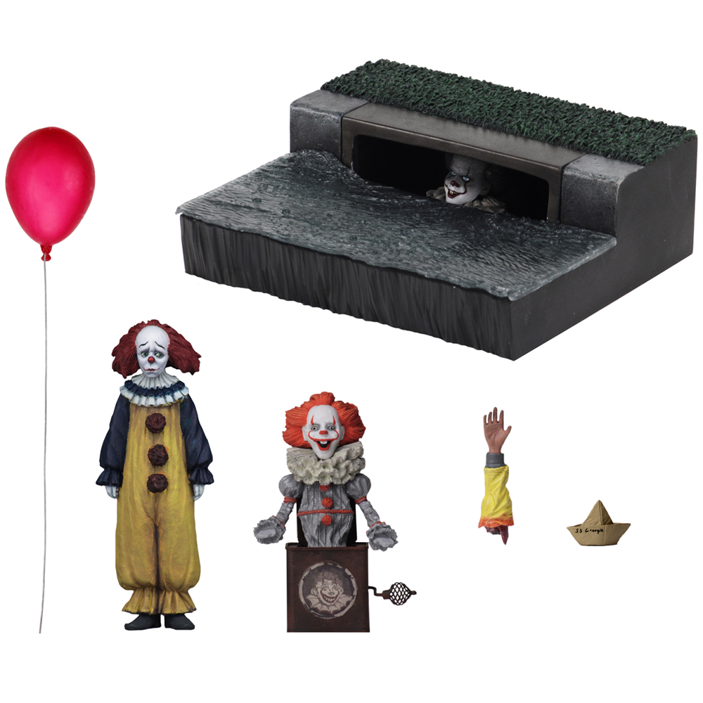 """Pennywise Accessory Set """"IT (2017)"""", NECA"""
