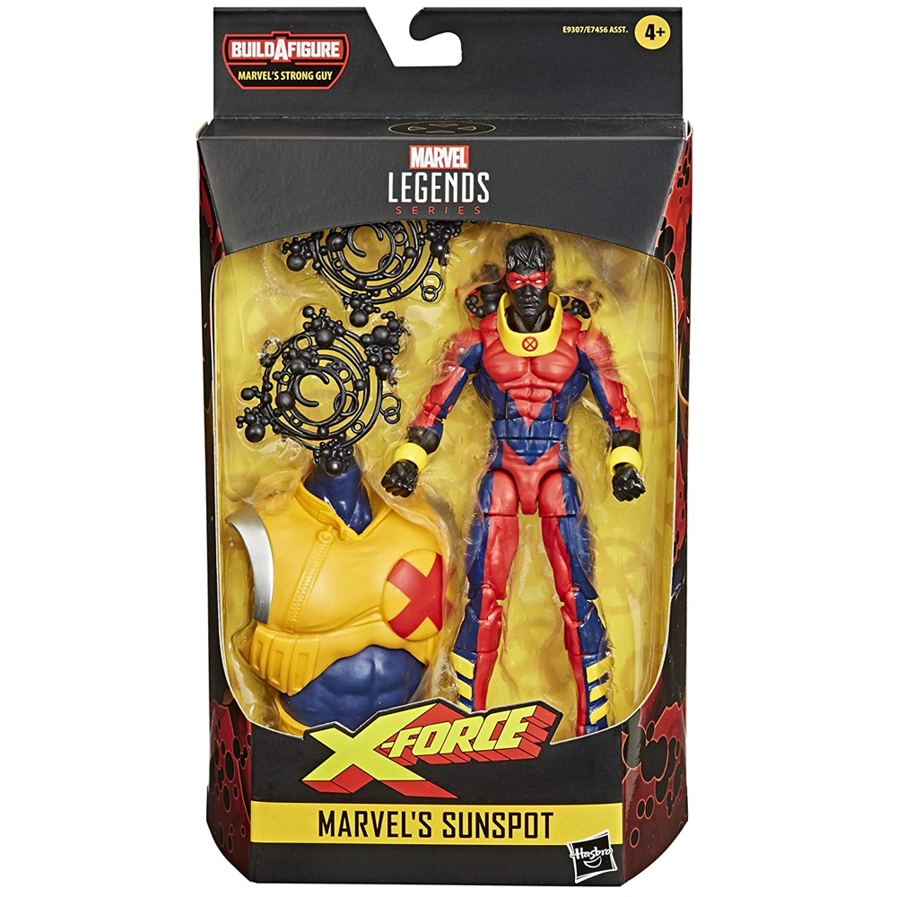 Marvel's Sunspot (Strong Guy Wave), Marvel Legends