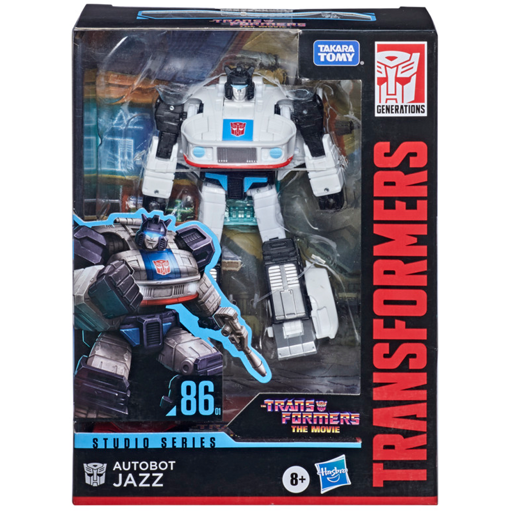 Autobot Jazz Deluxe Class #01, Transformers - Studio Series 86