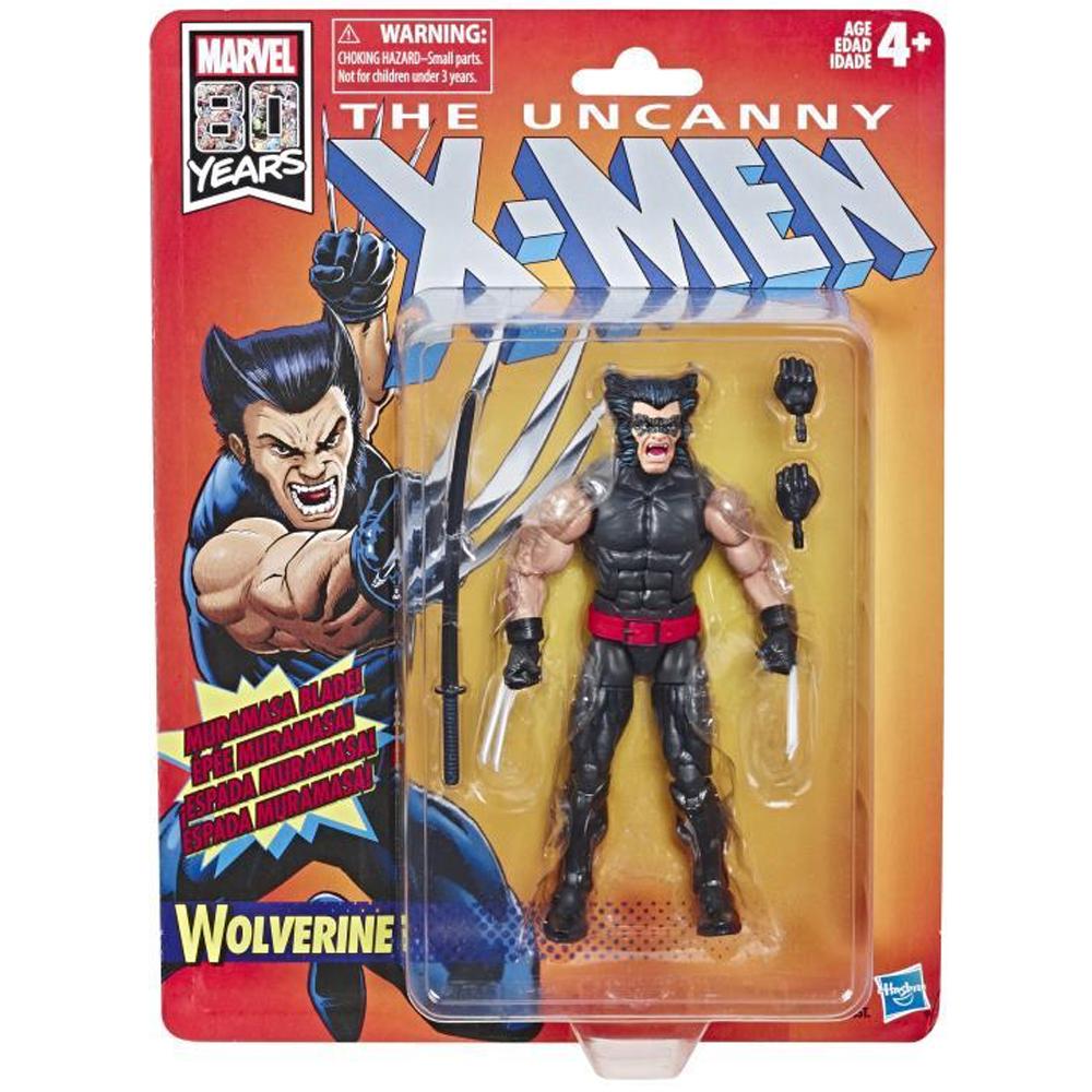 "Wolverine, Marvel Legends - ""X-Men"" Retro Collection Wave 1"