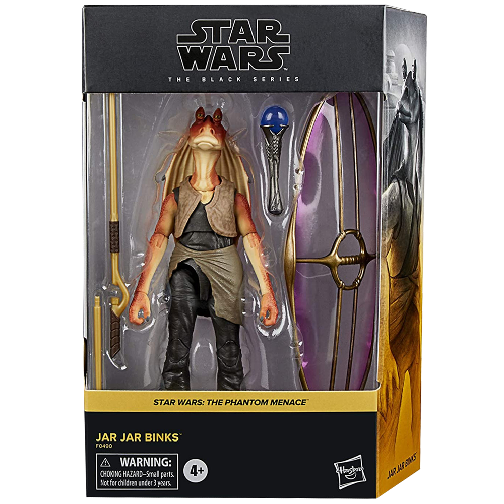 "Jar Jar Binks ""Star Wars: Episode I"", The Black Series Deluxe Figure"