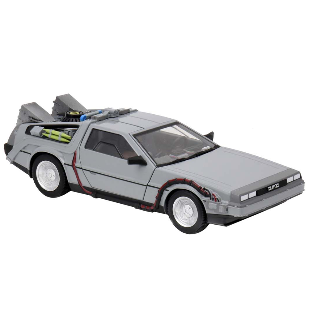 "Time Machine 1/16 Scale Die-Cast ""Back to the Future"", NECA"