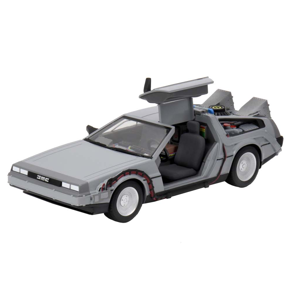 """Time Machine 1/16 Scale Die-Cast """"Back to the Future"""", NECA"""