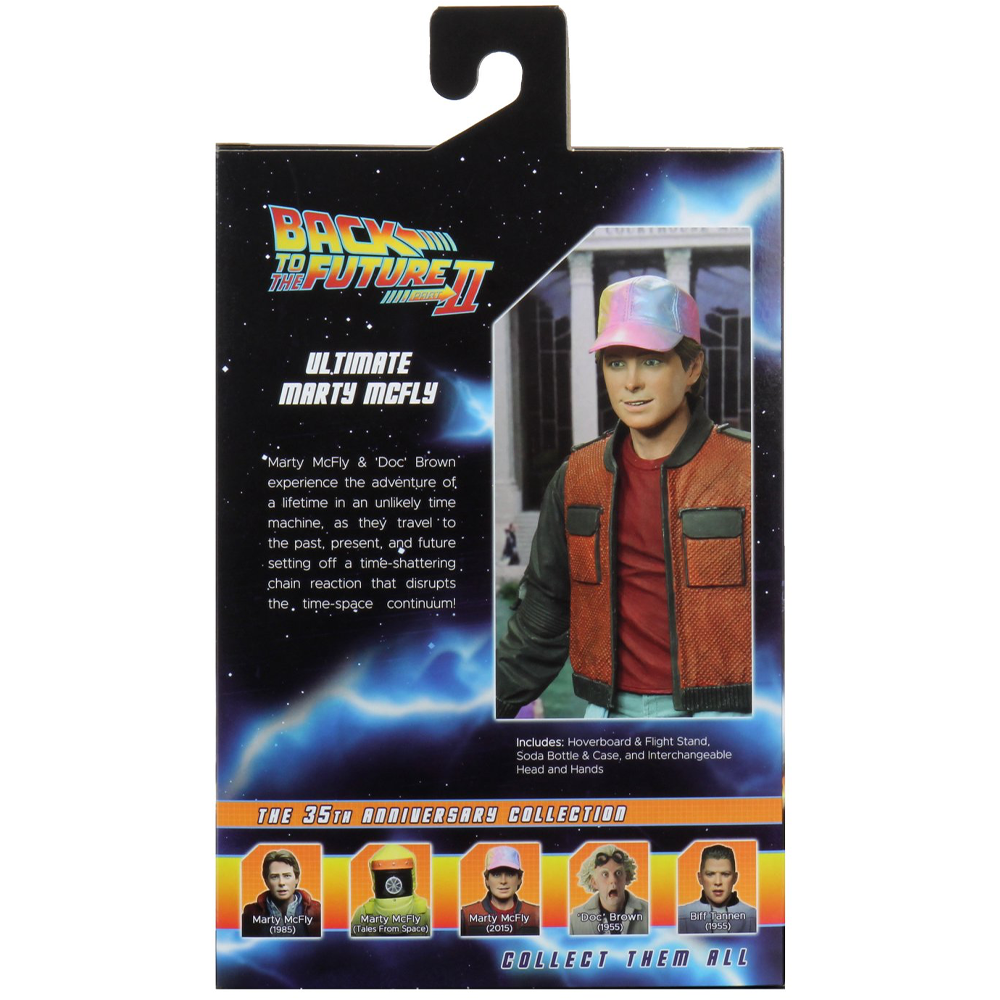 """Ultimate Marty McFly """"Back to the Future Part 2"""", NECA"""
