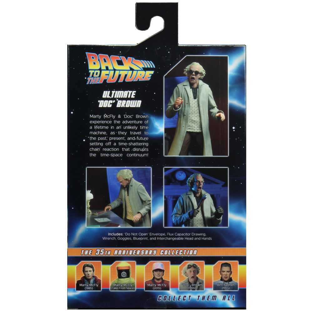 """Ultimate Doc Brown """"Back to the Future"""", NECA"""