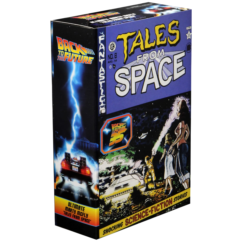 """Ultimate Marty McFly (Tales From Space) """"Back to the Future"""", NECA"""