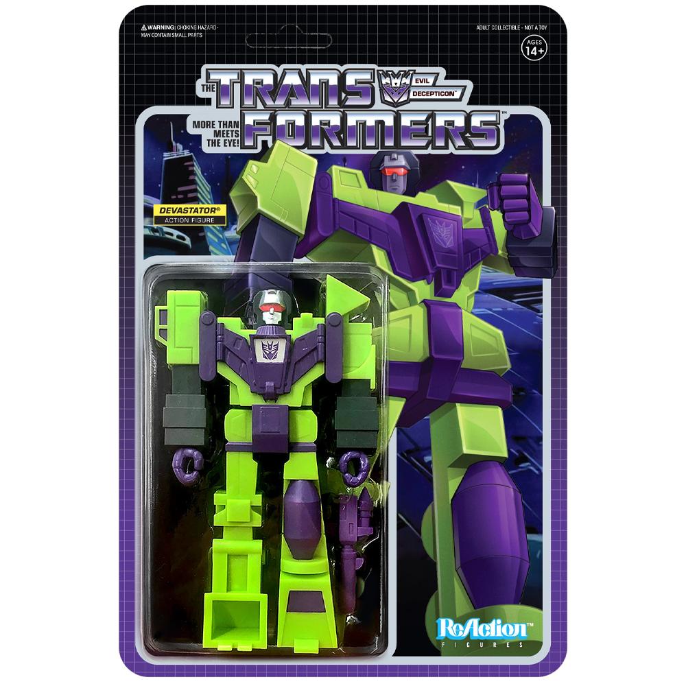 "Devastator ""Transformers"", ReAction Figures"