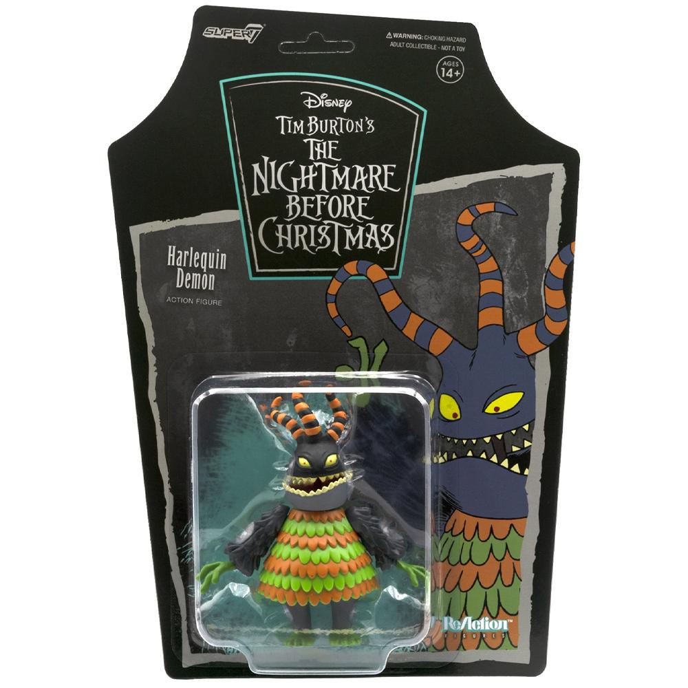 "Harlequin Demon ""Nightmare Before Christmas"", ReAction Figures"
