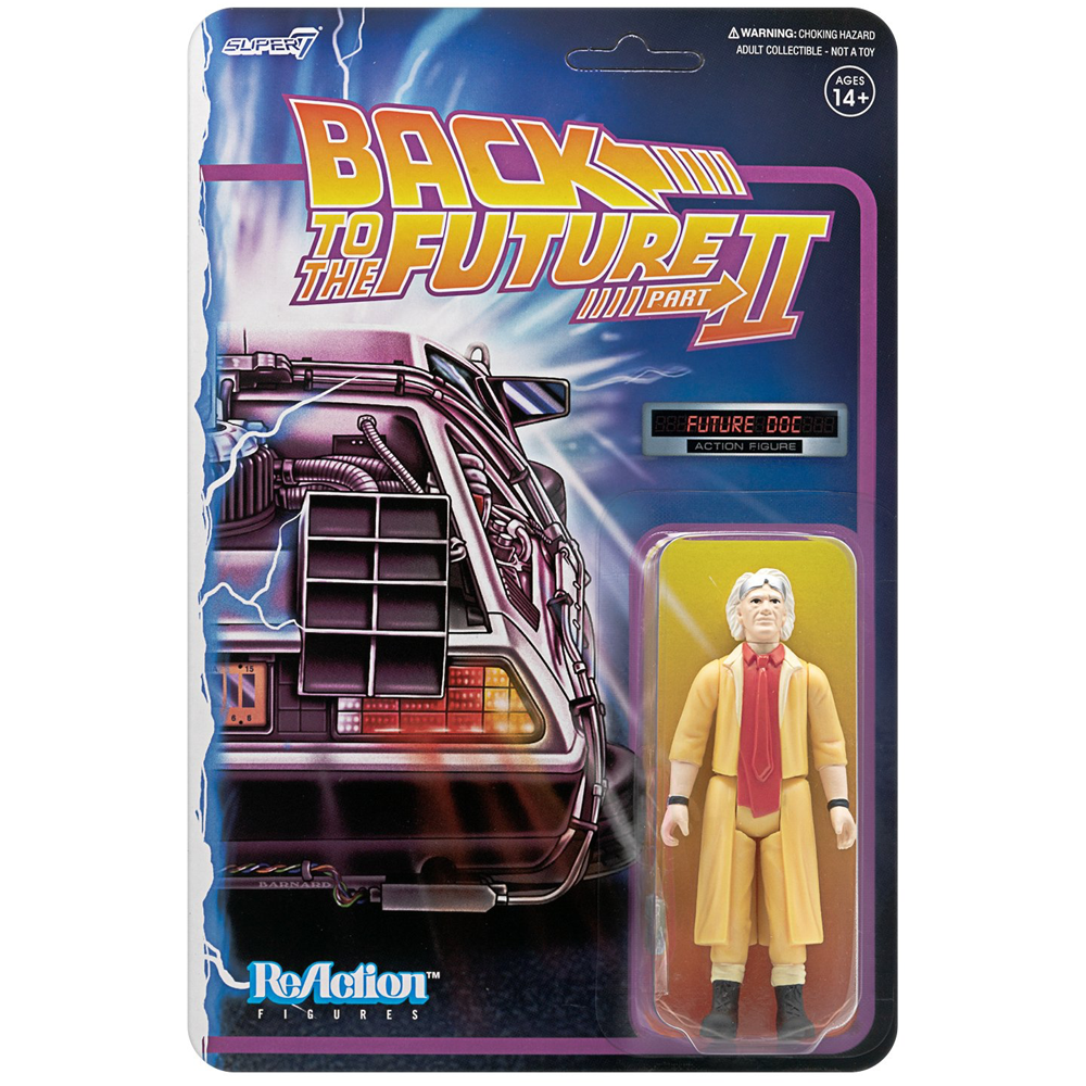 "Doc Brown (Future) ""Back to the Future 2"", ReAction Figures"