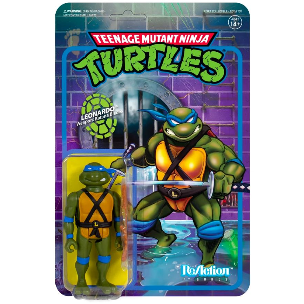 "Leonardo ""Teenage Mutant Ninja Turtles"", ReAction Figures"