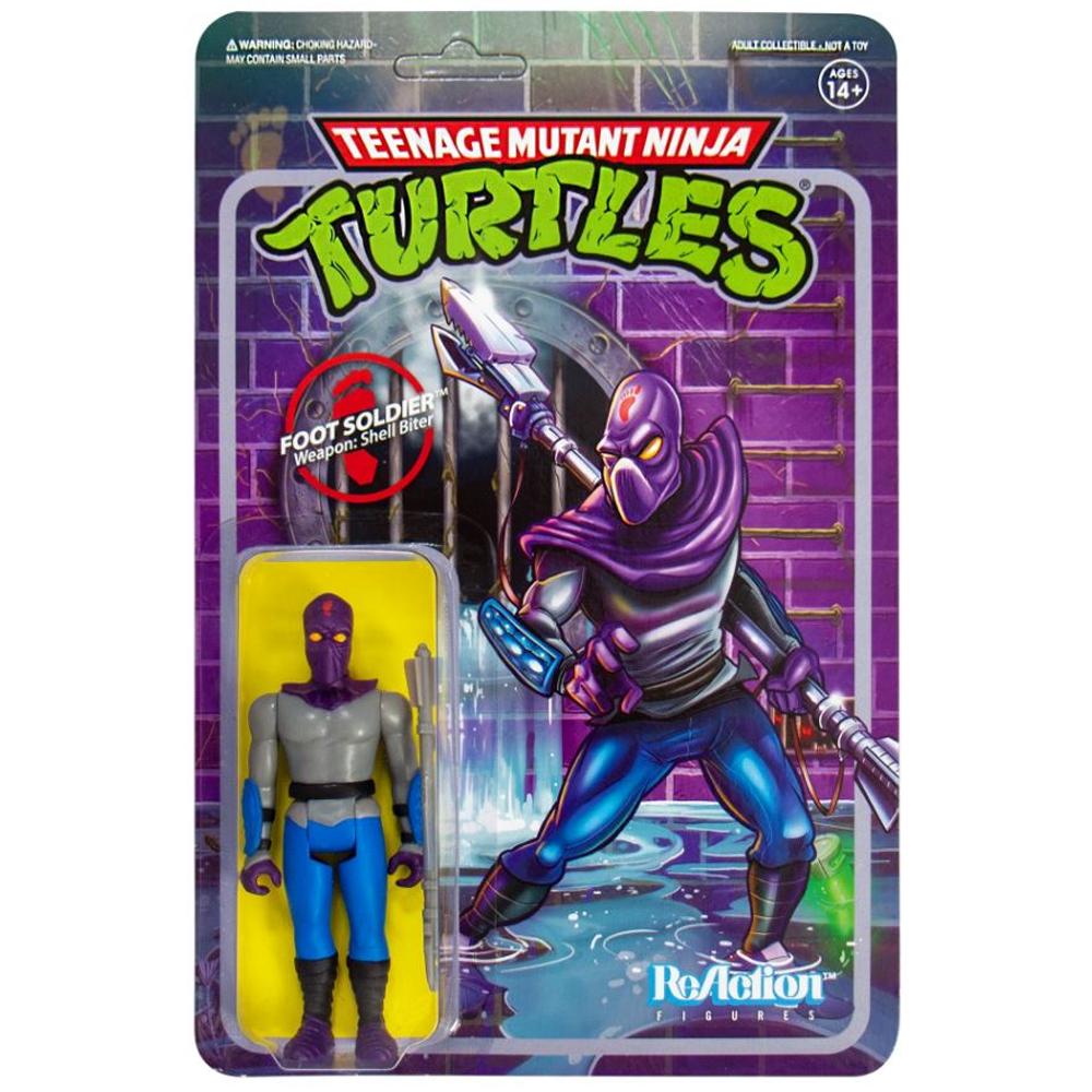 "Foot Soldier ""Teenage Mutant Ninja Turtles"", ReAction Figures"