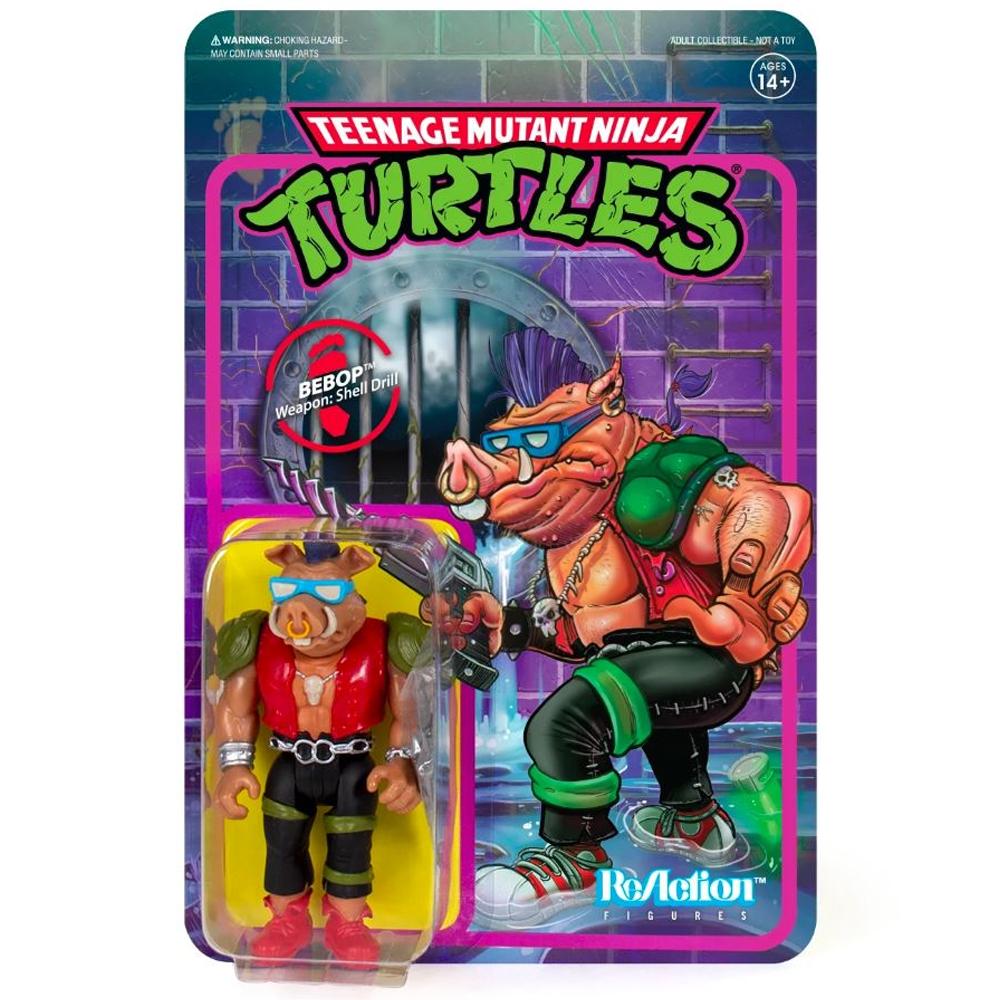 """Bebop """"Teenage Mutant Ninja Turtles"""", ReAction Figures"""