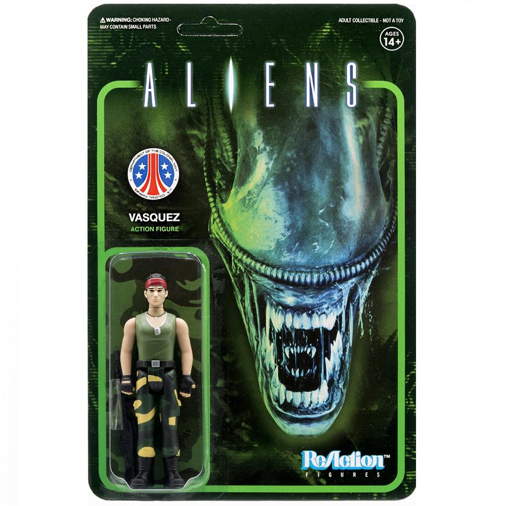 "Vasquez ""Aliens"", ReAction Figures"