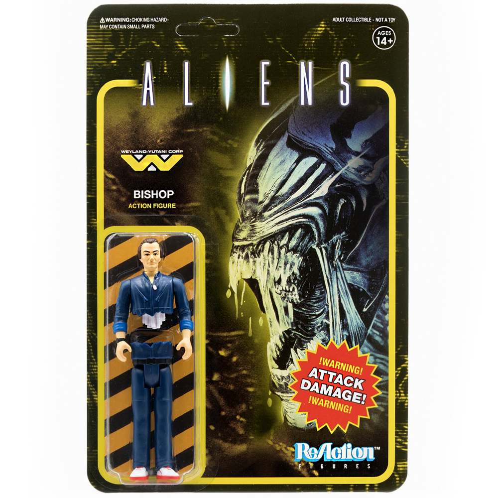 """Bishop """"Aliens"""", ReAction Figures"""
