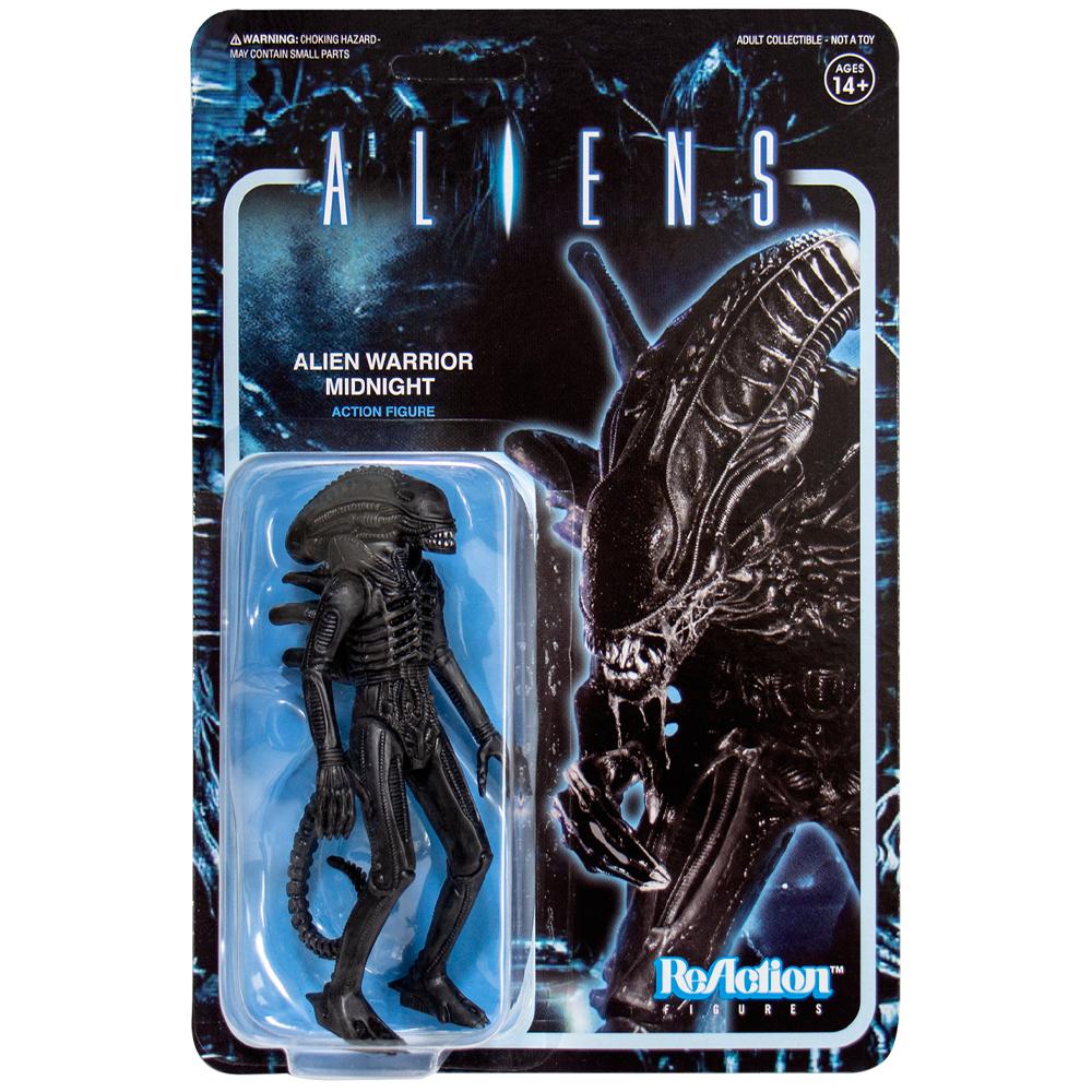 """Alien Warrior (Midnight) """"Aliens"""", ReAction Figures"""