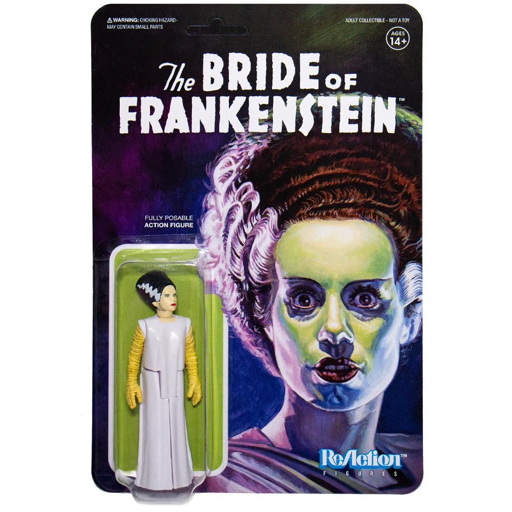 """The Bride of Frankenstein """"Universal Monsters"""", ReAction Figures"""
