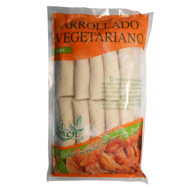 Arrollado Vegetariano 10 Unds.